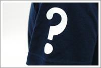 2005年版・半袖Tシャツ左袖部分のクローズアップ
